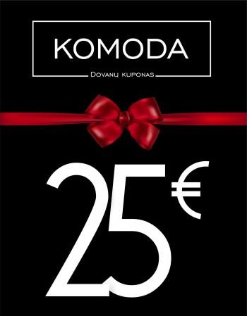 Twenty-five euro gift voucher