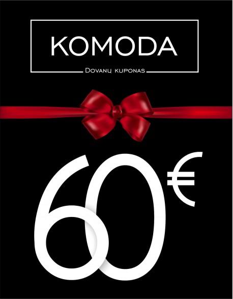 Šešiasdešimties eurų vertės dovanų kuponas