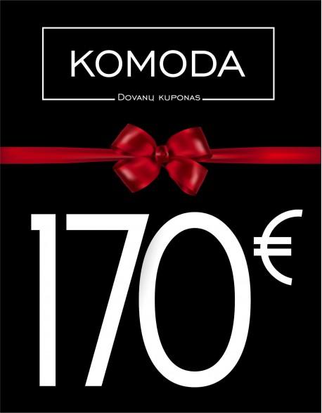 Šimto septyniasdešimties eurų dovanų kuponas