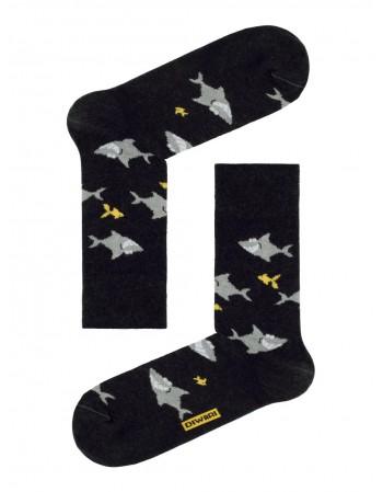 """Men's Socks """"Happy Black"""""""