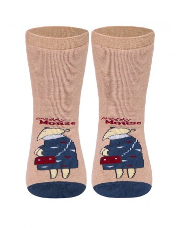 "Children's socks ""Pretty Tootsies Beige"""