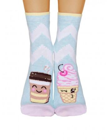 """Women's socks """"Happy time"""""""