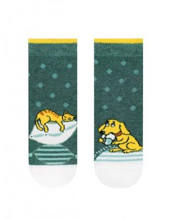 "Children's socks ""Cat and Dog"""