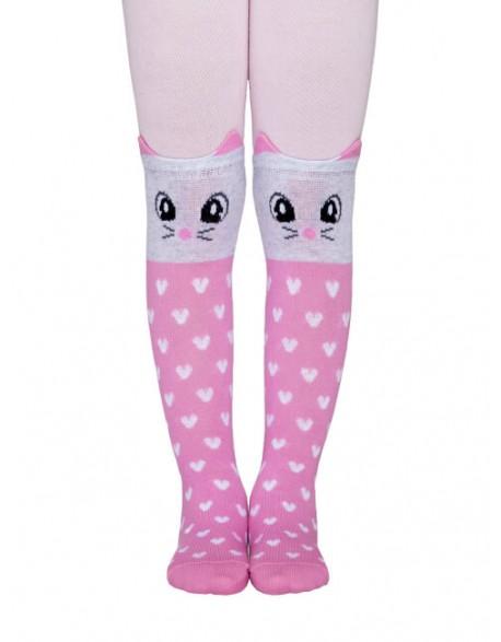 "Vaikiškos pėdkelnės ""Pink Cat"""