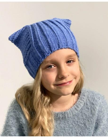 """Vaikiška kepurė """"Knitted Leo"""""""