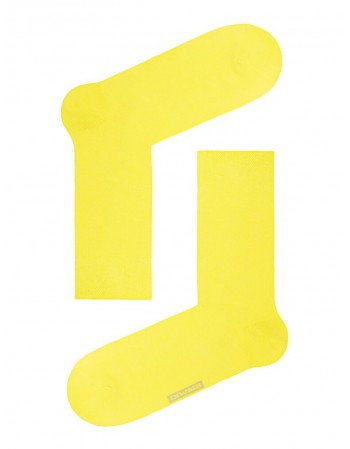 "Meeste sokid ""Happy Yellow"""