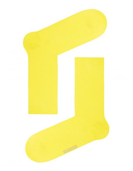 """Vyriškos kojinės """"Happy Yellow"""""""