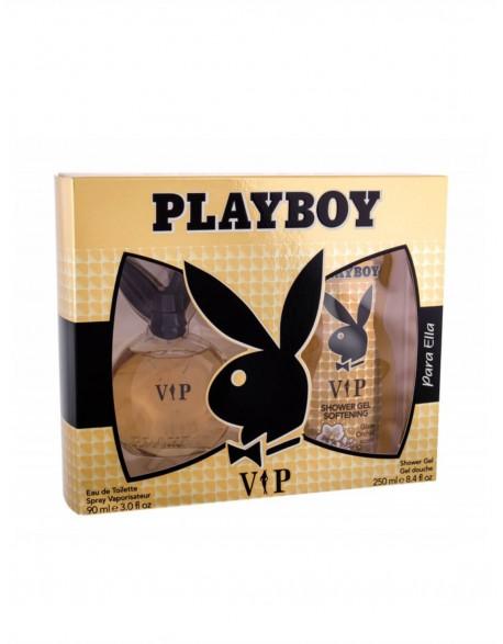 Rinkinys PLAYBOY VIP EDT 90ml + dušo gelis