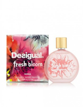 """Perfume For her DESIGUAL """"Fresh Bloom"""" EDT 100 Ml"""