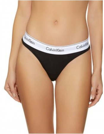 "Женские трусики String ""CALVIN KLEIN Black String"""