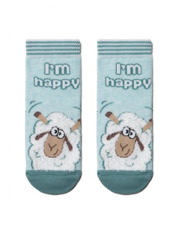 "Children's socks ""Happy sheep"""