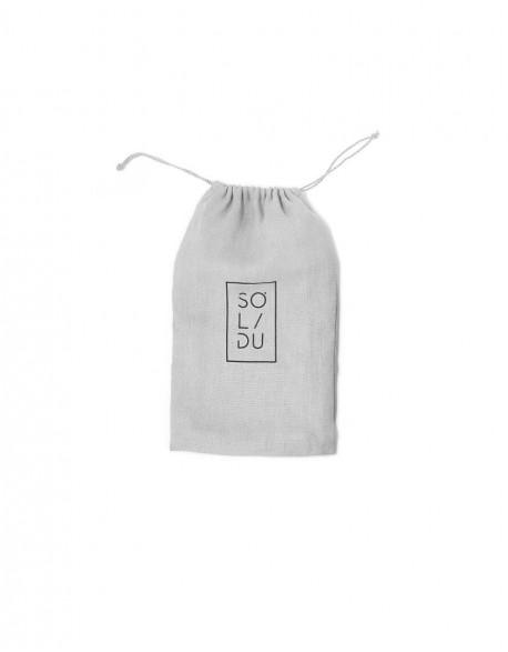 Lininis maišelis SOLIDU Grey