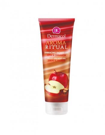 M.Dušo Želė DERMACOL AROMA RITUAL Apple&Cinnamon, 250 Ml