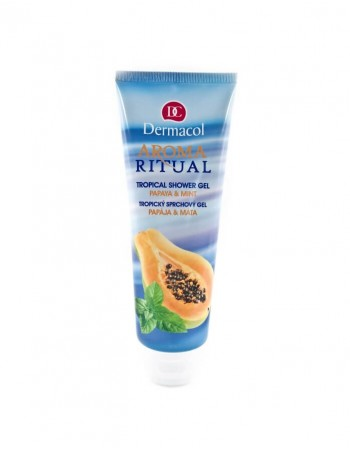 """Shower gel DERMACOL Aroma Ritual """"Papaya&Mint"""""""