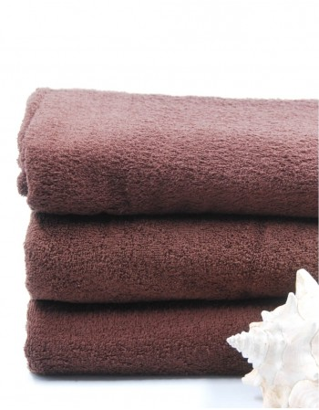 "Worsted Cotton Towel ""Browny Cotton"""