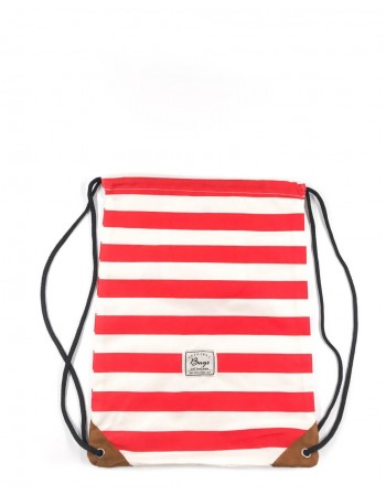 "Backpack ""Stripe Red"""