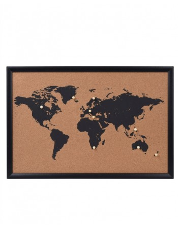 "Lenta Žemėlapis ""Whole World"" Black"