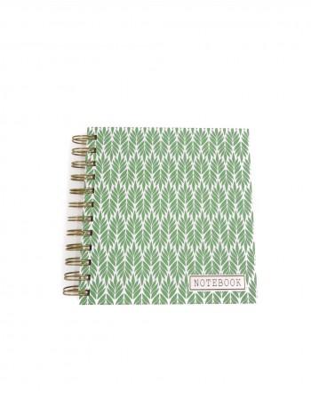 "Notebook ""Green Notes"""
