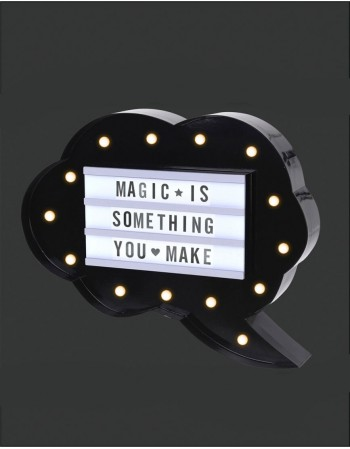 "Illuminated Board "" Magical Words"""