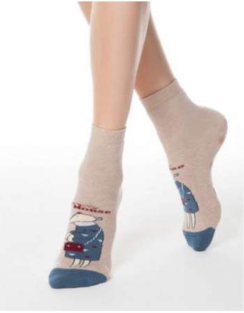 "Women's socks ""Pretty Mouse Women"""