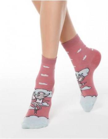 """Женские носки """"Balerinna Mouse"""""""
