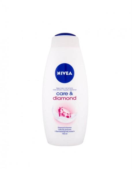 """Dušo Želė """"Nivea Care & Diamond"""", 750 ml"""