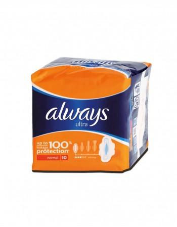 "Higieniniai Įklotai ""Always Ultra"", 10 vnt."