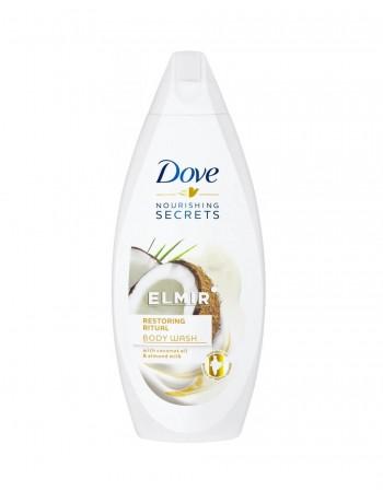 "Dušo Želė ""Dove Coconut & Almond Milk"", 250 ml"