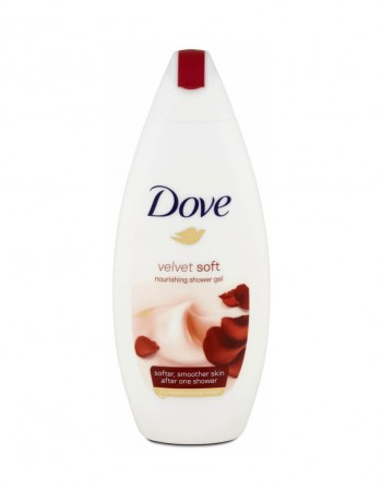 "Гель для душа ""Dove Velvet Soft"", 250 ml"