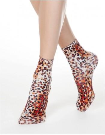 """Moteriškos kojinaitės """"Leopardo"""""""