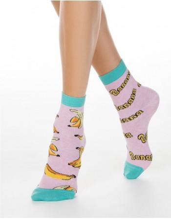 """Moteriškos kojinės """"Pink Banana"""""""