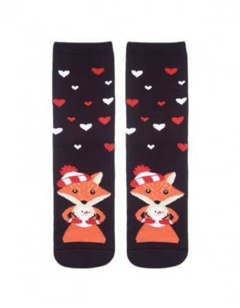 """Women's socks """"Winter Fox"""""""