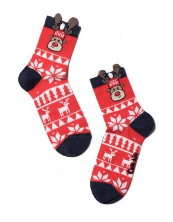 """Vaikiškos kojinės """"Ornamentos"""""""