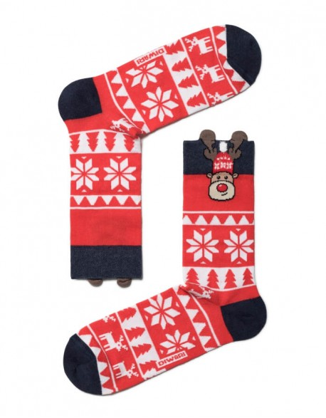 """Vyriškos kojinės """"Christmas Deer"""""""
