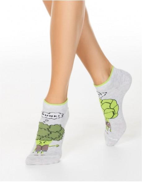 """Moteriškos kojinės """"Vegetables"""""""
