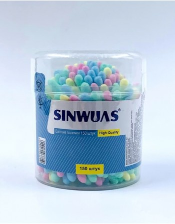 Cotton buds SINWUAS, 150 pcs