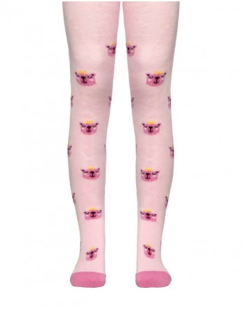 "Tights For Children ""King Bear Pink"""