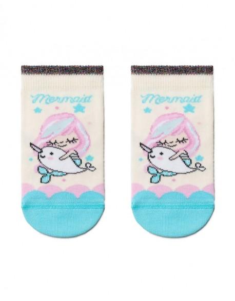 "Children's socks ""Pink Mermaid"""