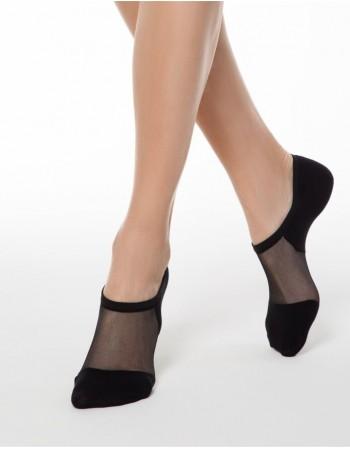 "Women's socks ""Freedom Black"""