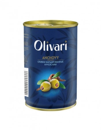 "Olives stuffed with anchovies ""Olivari"" 300g"