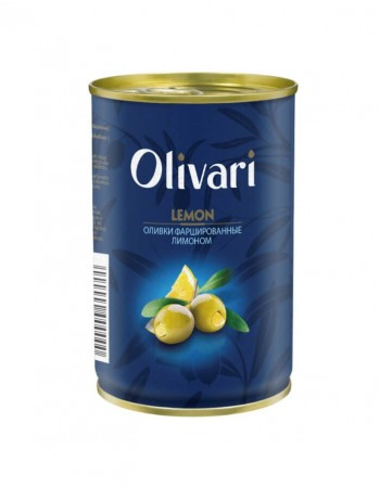 "Olives stuffed with lemons ""Olivari"" 300g"