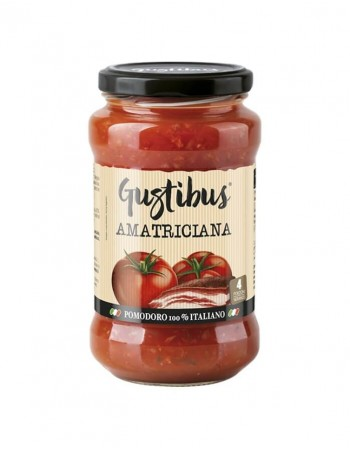 "Tomati kaste ""Gustibus"" Amatriciana, 400g"