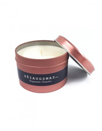 "Soybean Wax Candle ""Džiaugsmas"""