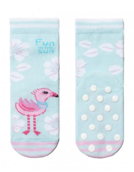 """Children's socks """"Blue Flamingo"""""""