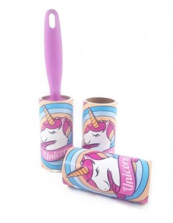 """Sticky lint roller set """"Unicorn"""""""