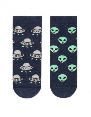 """Children's socks """"Aliens"""""""