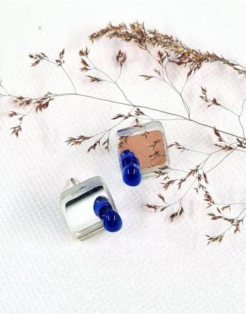 "Earrings ""Stiklo taškas"""