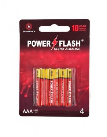 Patareid POWER FLASH AAA LR03 1,5V