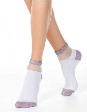 Женские носочки ''Shiny White''