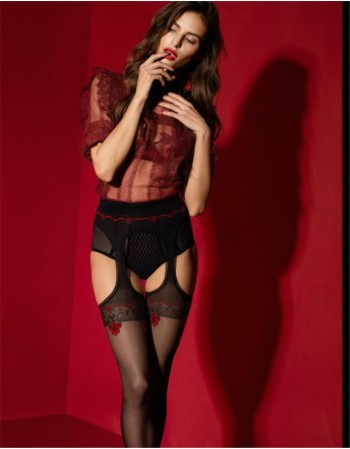 "Suspender tights ""Amour Rouge"" 20 Den"
